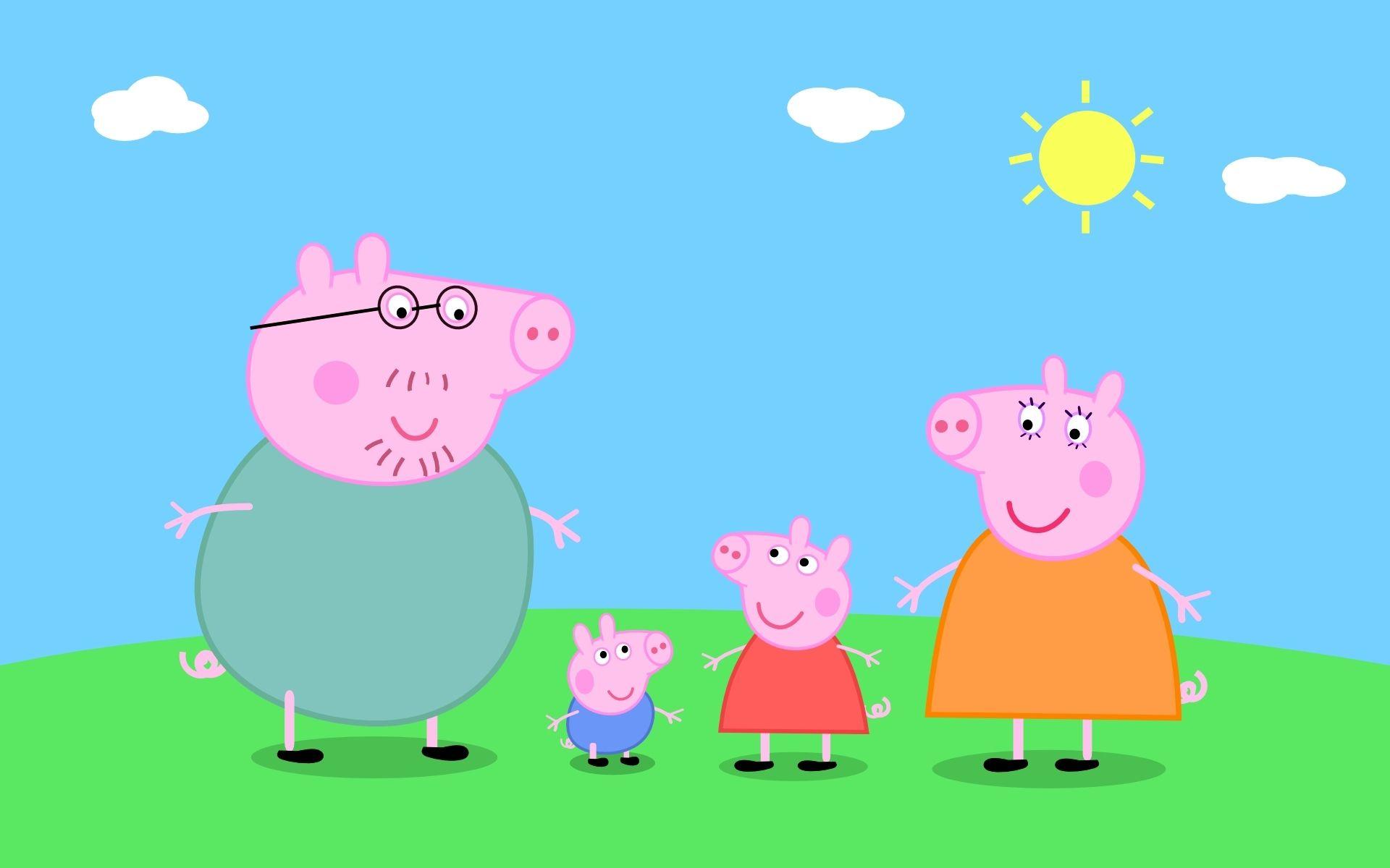 54 Disegni Di Peppa Pig Da Colorare Peppa Pig Maialini E