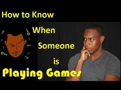 How to know a guy is a player