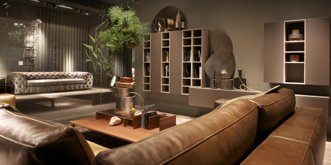 Novità divani in pelle dal Salone di Milano 2017