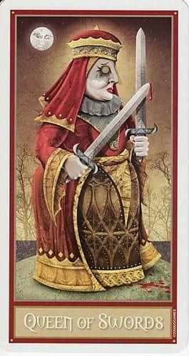Deviant Moon Queen of Swords