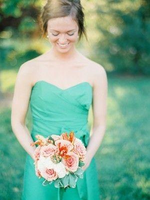 Underbar färgkombo - Lovely wedding flower