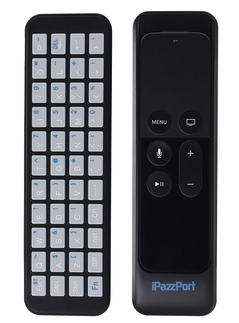 appletv4thoriented mini Bluetooth keyboard with