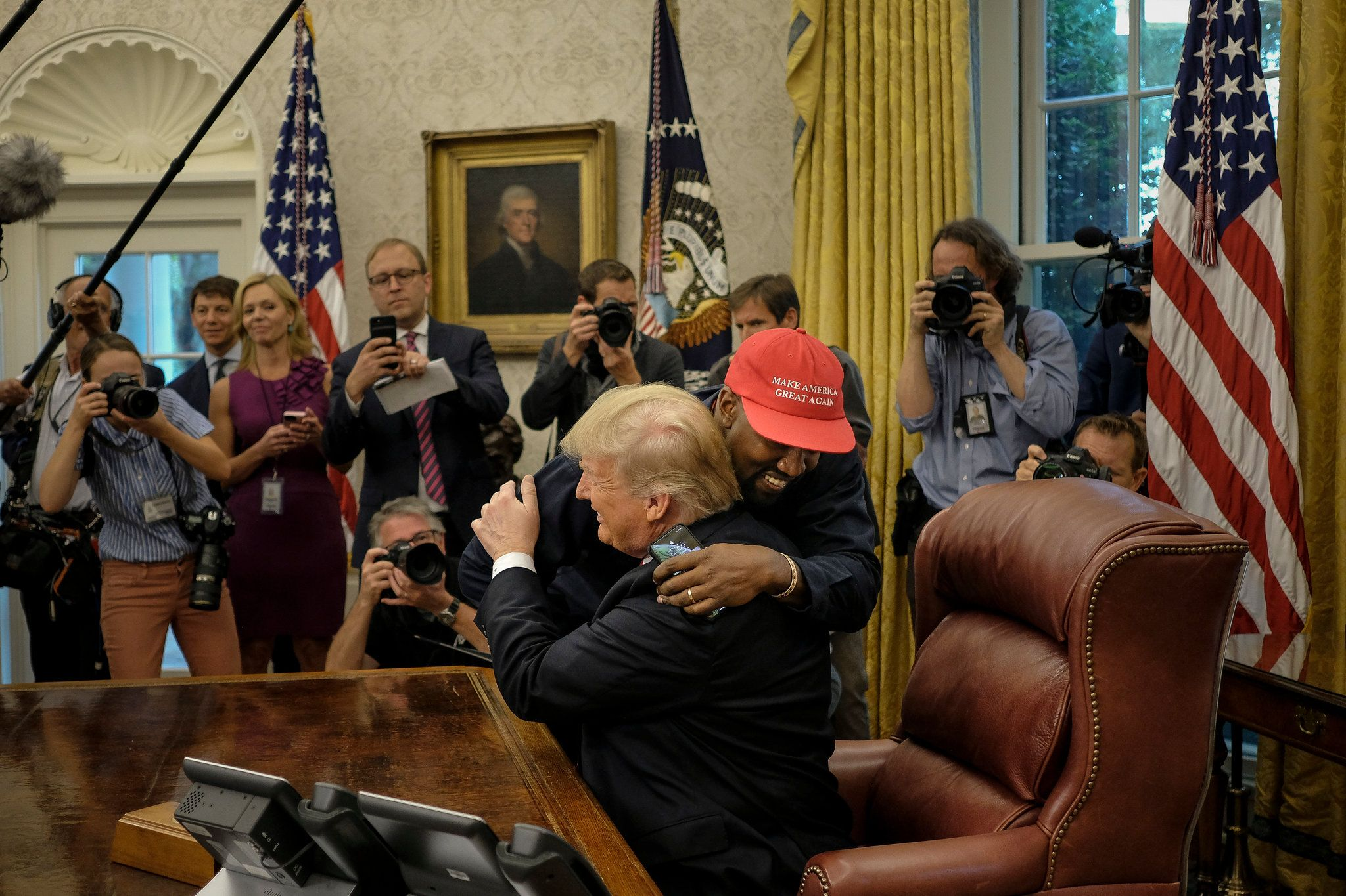 Kanye West S Oval Office Rant Steals The Spotlight From Trump With Images Latest World News