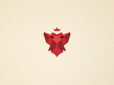 Lion's head logo