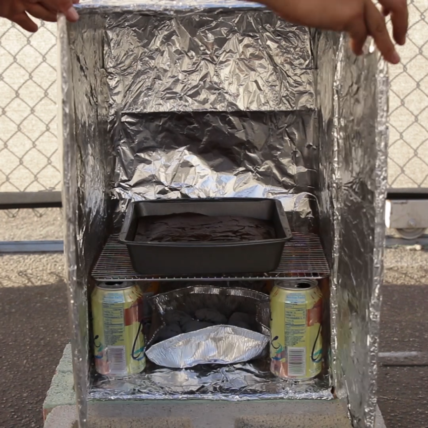 Cardboard Box Oven // #outdoors #camping #hacks #lifehacks