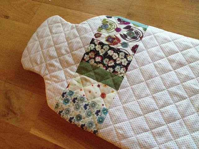 Hot Water Bottle Cover. | Knit + Sew. | Pinterest | Water bottle ...