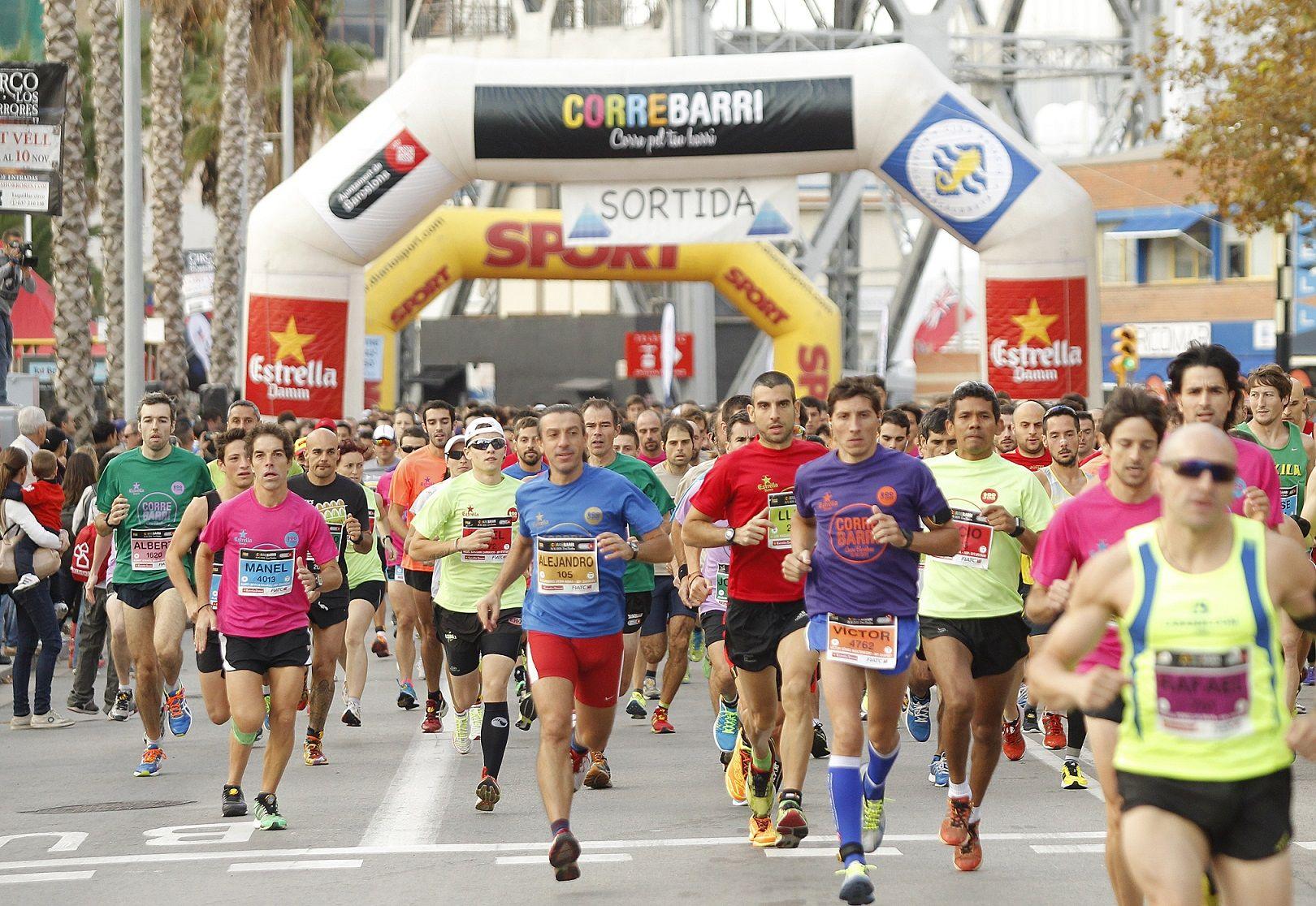 SANT MARTÍ REPETEIX EL TRIOMF AL CORREBARRI 2013 - Atletisme.cat