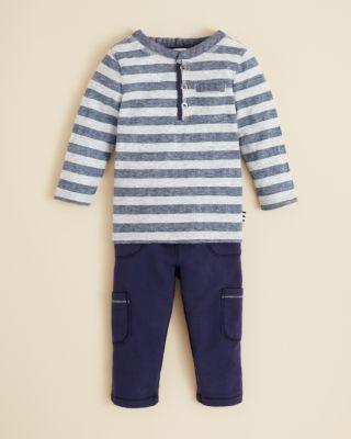 2418bb5ef937 Splendid Infant Boys  Stripe Henley   Pants Set - Sizes 3-24 Months ...