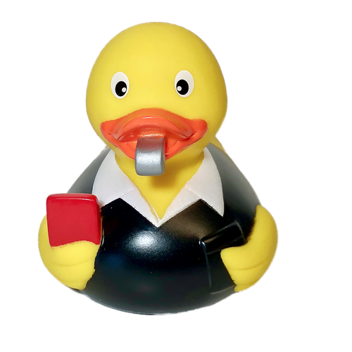 Referee Umpire Rubberduck By Schnabels Ducks In The