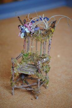 How To Make Fairy Furniture From Twigs Fairy Furniture Twig Furniture Fairy Garden Furniture