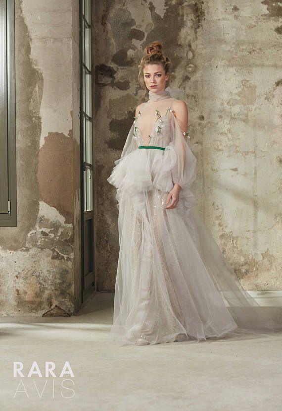 Vestido de novia Boho RIKI playa vestido de novia vestido de ...