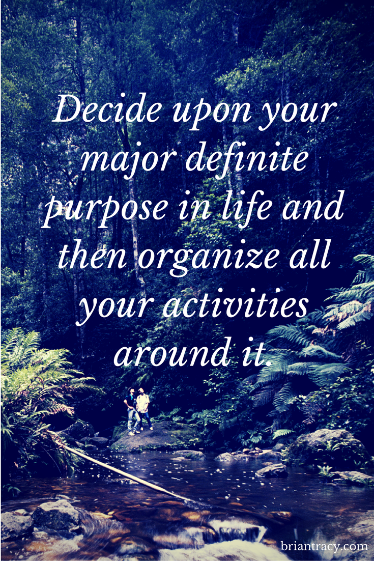 what is your life purpose what do you want to achieve