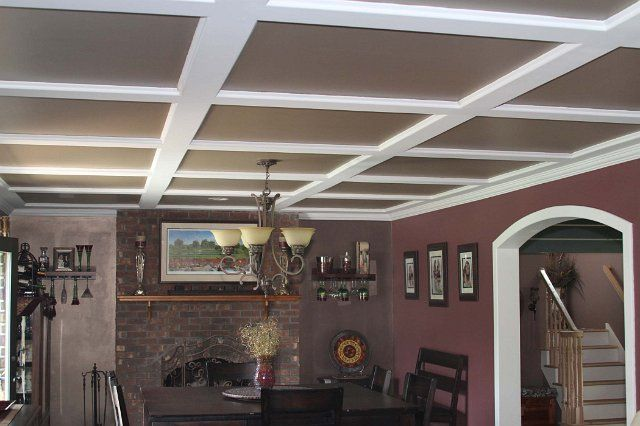 Wonderful 1 X 1 Acoustic Ceiling Tiles Huge 12X12 Tiles For Kitchen Backsplash Flat 2 Inch Hexagon Floor Tile 3X6 Marble Subway Tile Young 4 X 4 Ceramic Tiles Black4X2 Ceiling Tiles DIY: Tin Panels? Alternatives To An Acoustic Tile Suspended ..