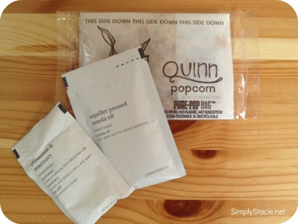 Quinn Popcorn Review & Giveaway (US & Can)