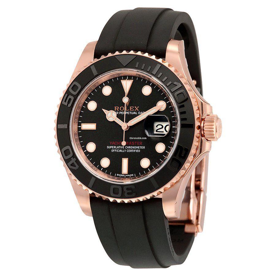 Rolex Yacht Master 40 Watch In Everose Gold In 2020 Rolex Watches Rolex Yacht Master Watches For Men