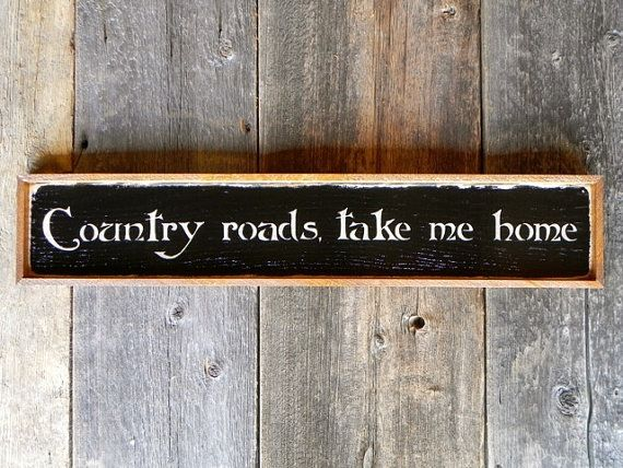 Country Signs And Sayings Handmade Wood Indoor Outdoor Primitive