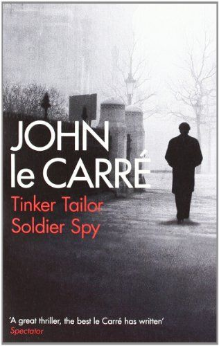 Tinker Tailor Soldier Spy Book Cover