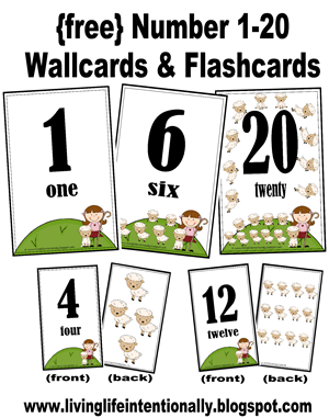 image regarding Printable Numbers 1 20 Flashcards named Totally free Range Flashcards and Wall Playing cards Engage in Pursuits for