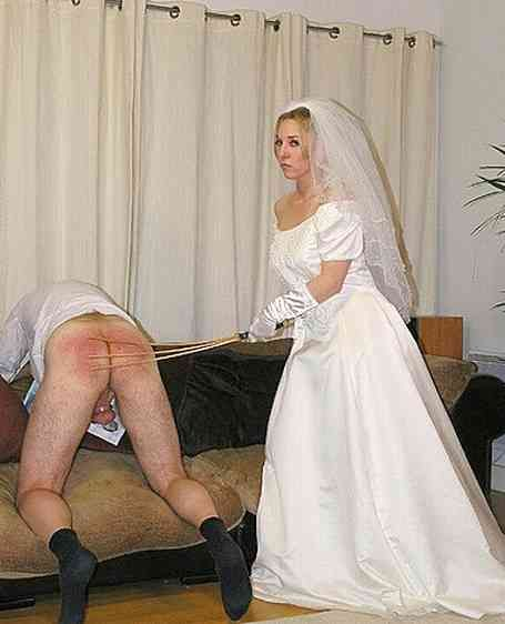wedding getting day pic spanking Brides on