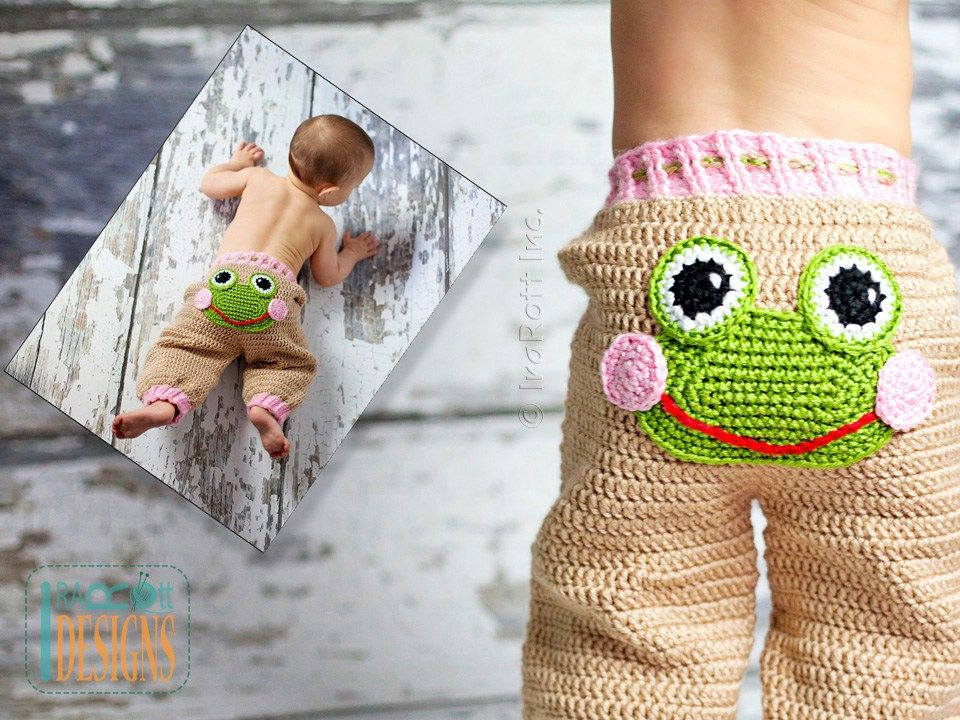 Silly Creatures Alien Frog and Lion Pants PDF Crochet Pattern ...