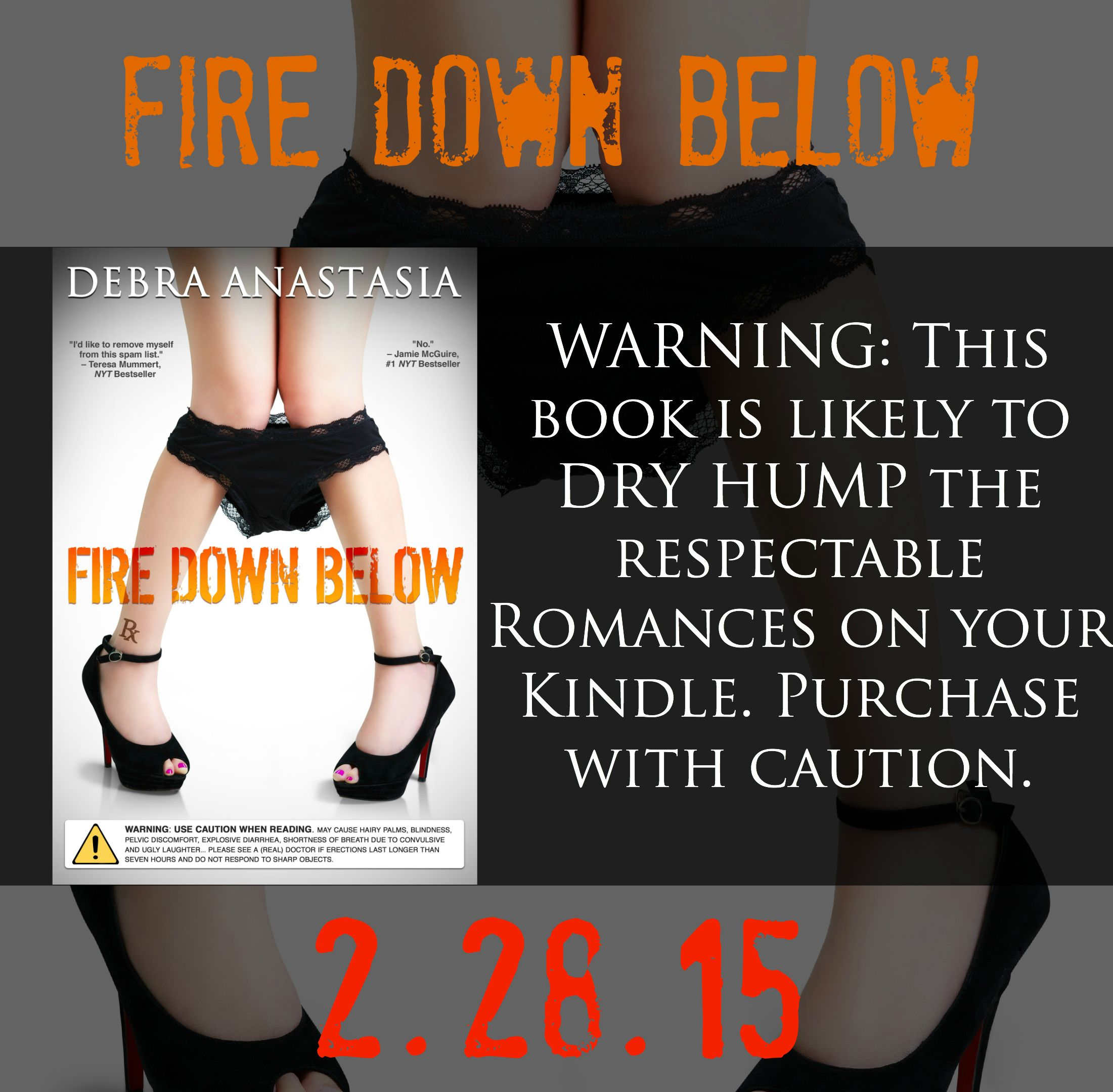 This is the horrible truth right here. #FireDownBelow Pre-Order amzn.to/1DlJyMo