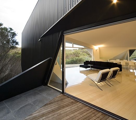 Klein Bottle House By McBride Charles Ryan Is A Amazing Origami Inspired  House In Morning Peninsula
