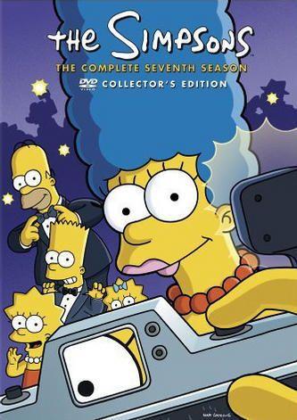 18,95 Simpsons - Season 7 (4 disc)  (DVD) JA myös kaudet 15 JA 16 tervetulleita!