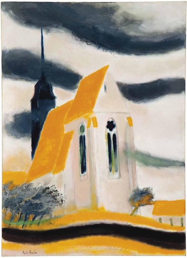 L Eglise De Fresne En Tardenois 1970 By Andre Brasilier Avec