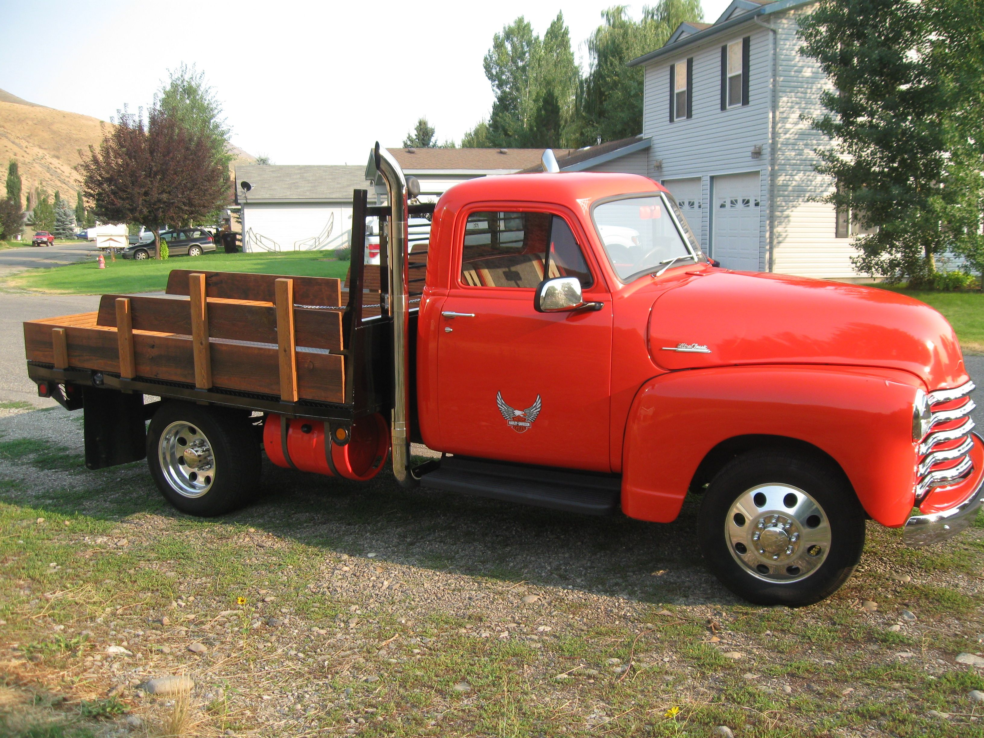Our \'51 Chevy FOR SALE...and I like the back stakes of that one ...