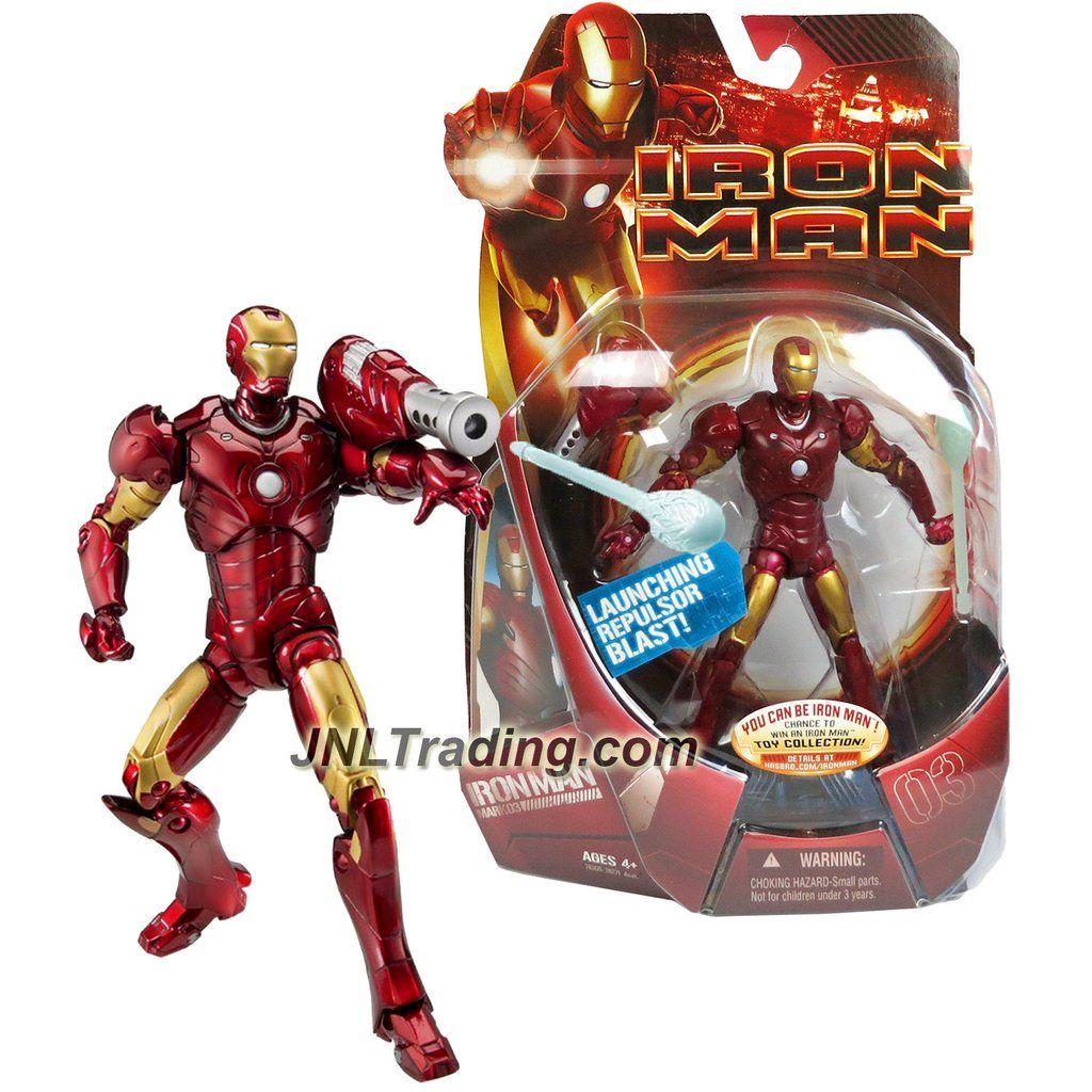 Marvel Year 2007 Iron Man 1 Movie Series 6 Inch Tall