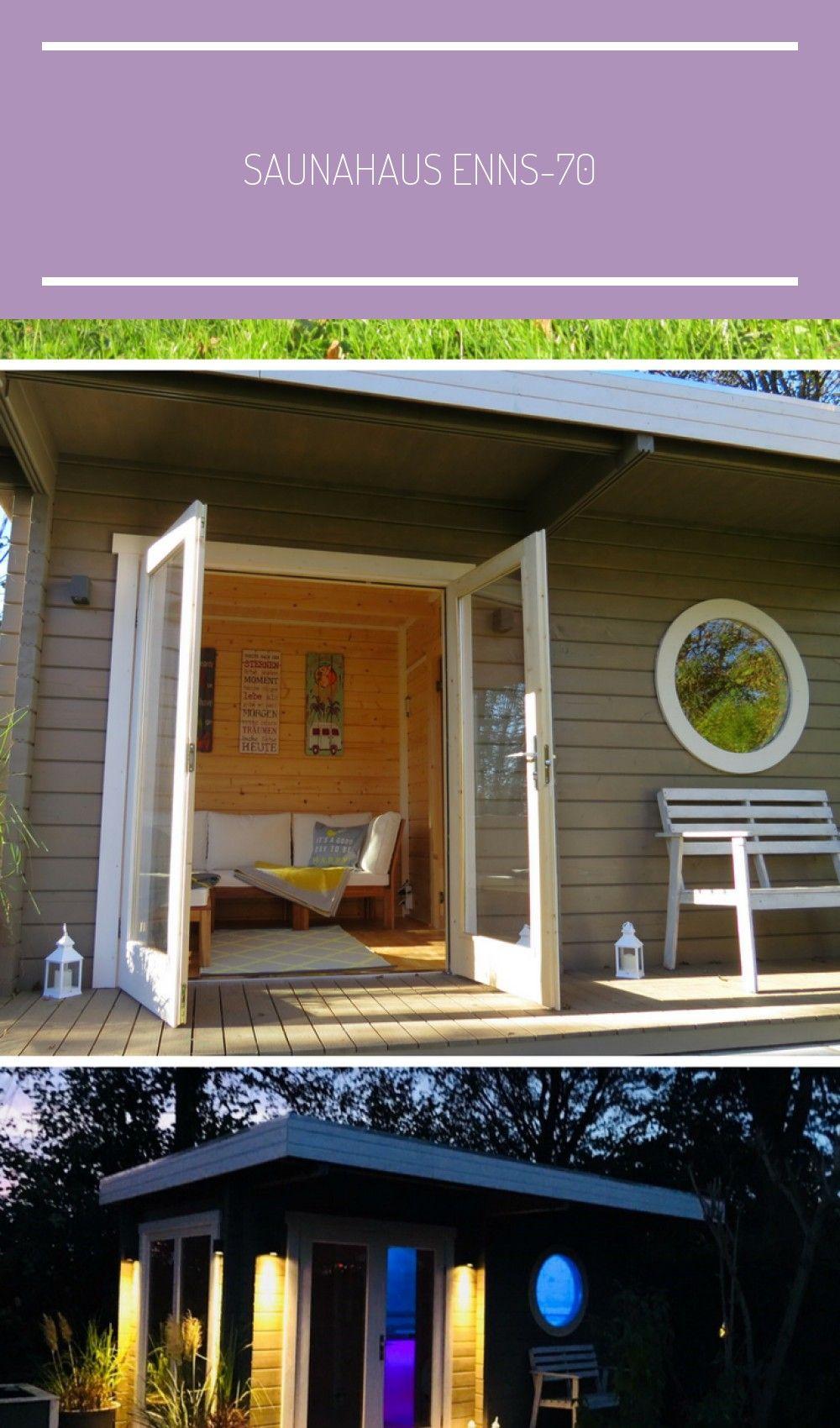 Photo of Ihre eigene Sauna im Garten ist der perfekte Ort zum Entspannen.