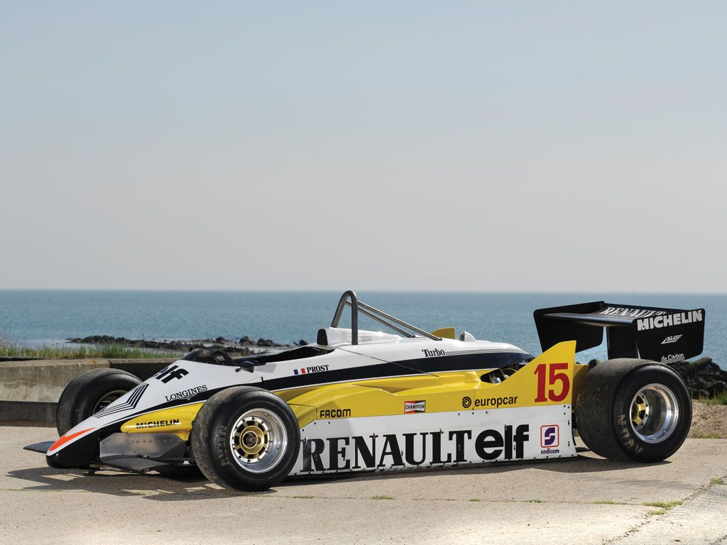 1982 Renault RE30B Formula One | Monaco 2014 | RM AUCTIONS
