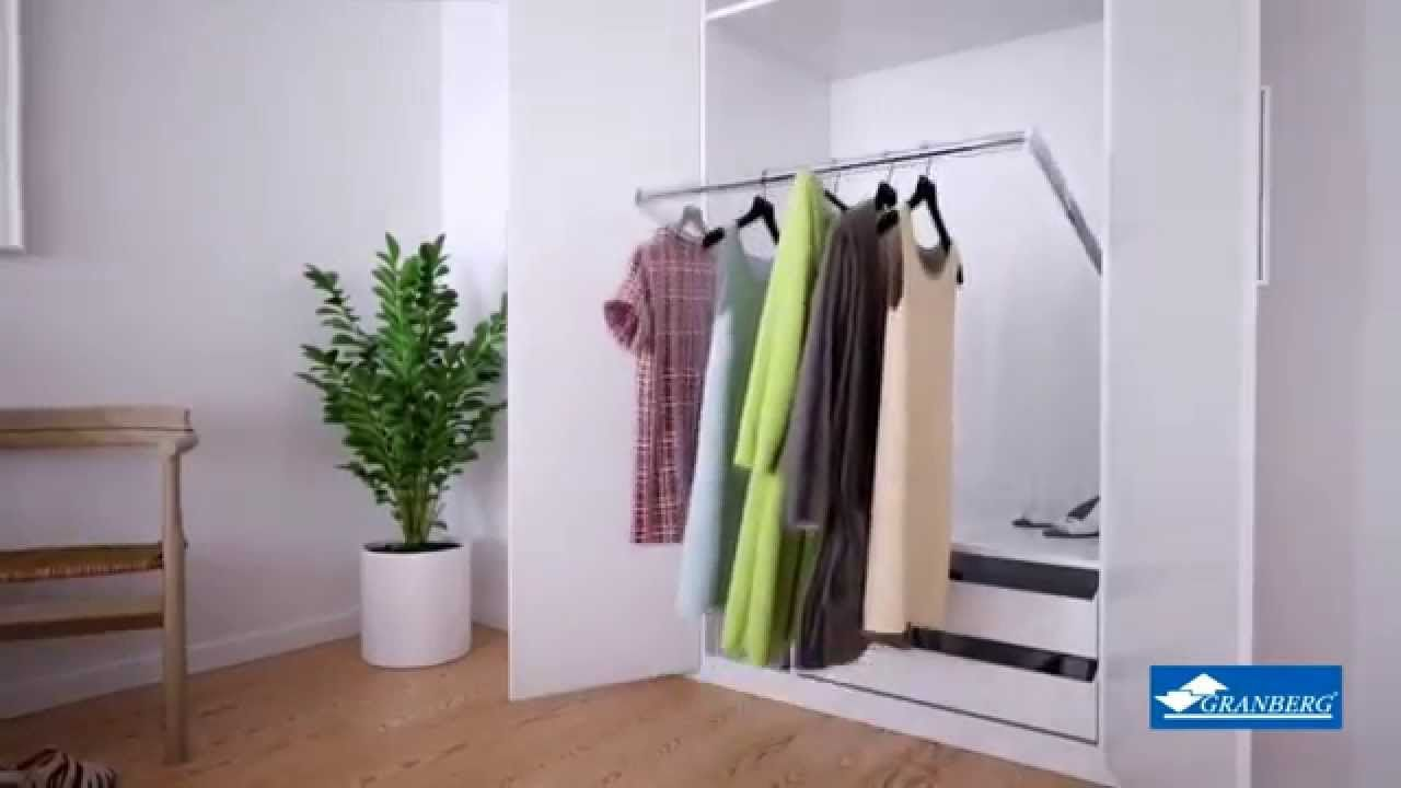 MCS Butler Electric Wardrobe lift 720 by Granberg