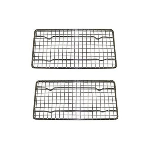Set Of 2 Heavy Duty Cooling Rack Wire Pan Grade Commercial Grade Cookie Baking Rack This Is An Amazon Affiliate Link Learn Cooling Racks Baking Heavy Duty