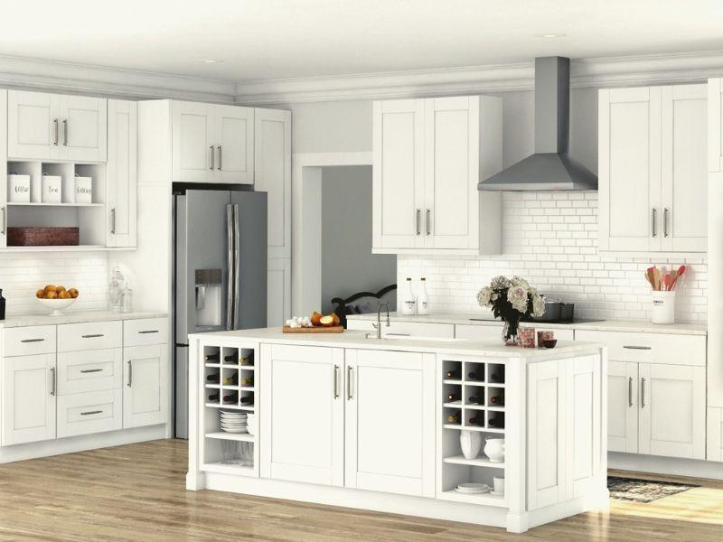 Best Stunning White Kitchen Cabinets Ideas To Brighten Your 640 x 480