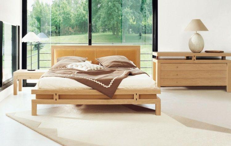 Idée chambre à coucher de style moderne et contemporain