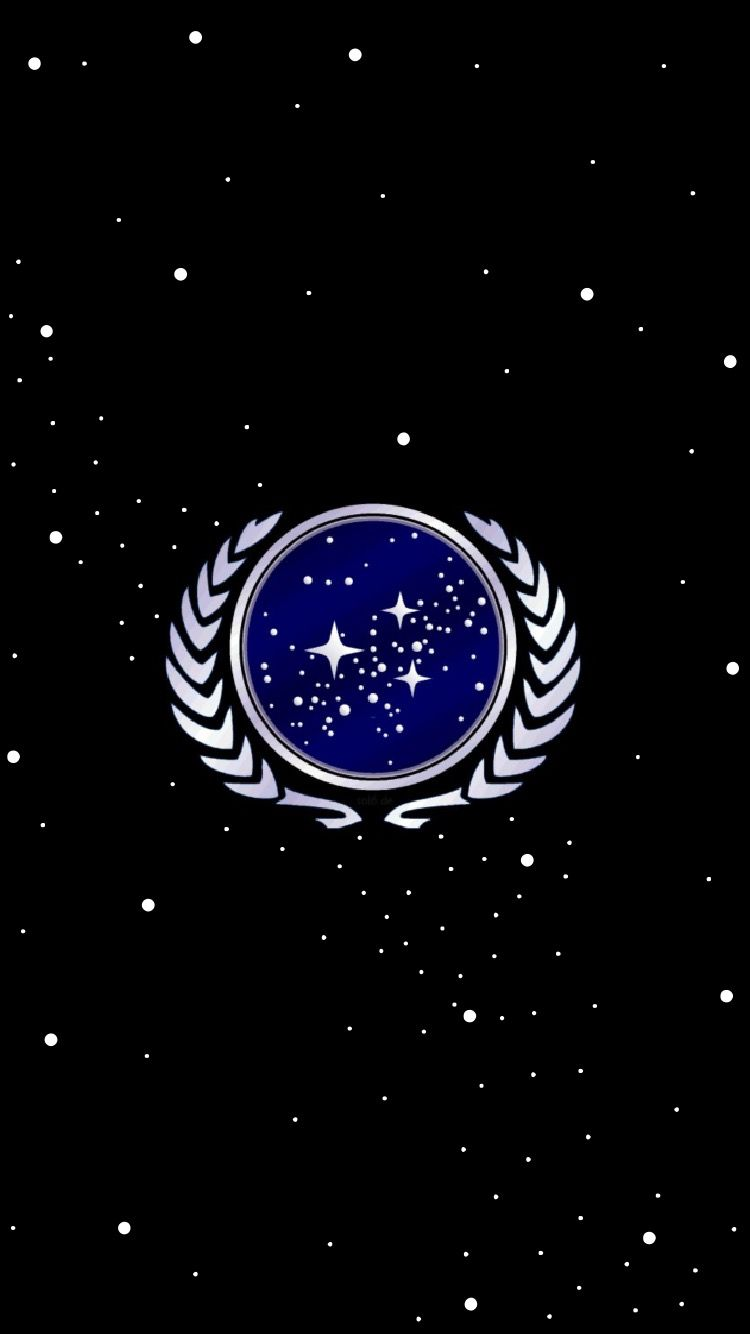 UFP Wallpaper for phones, no wording. Star trek