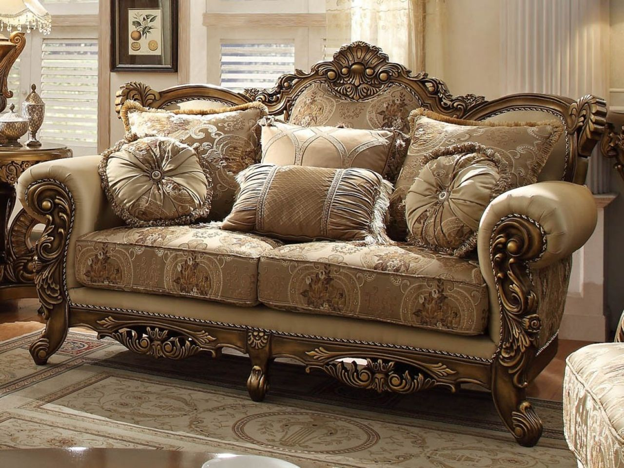 cool Awesome Queen Anne Style Living Room Furniture 87 For Your Home ...