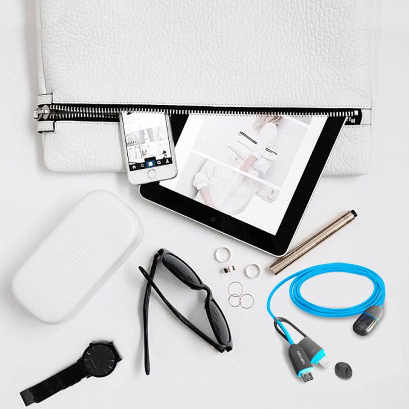 fashion desk office ipad smartphone cable pc blue usb fuji accessories