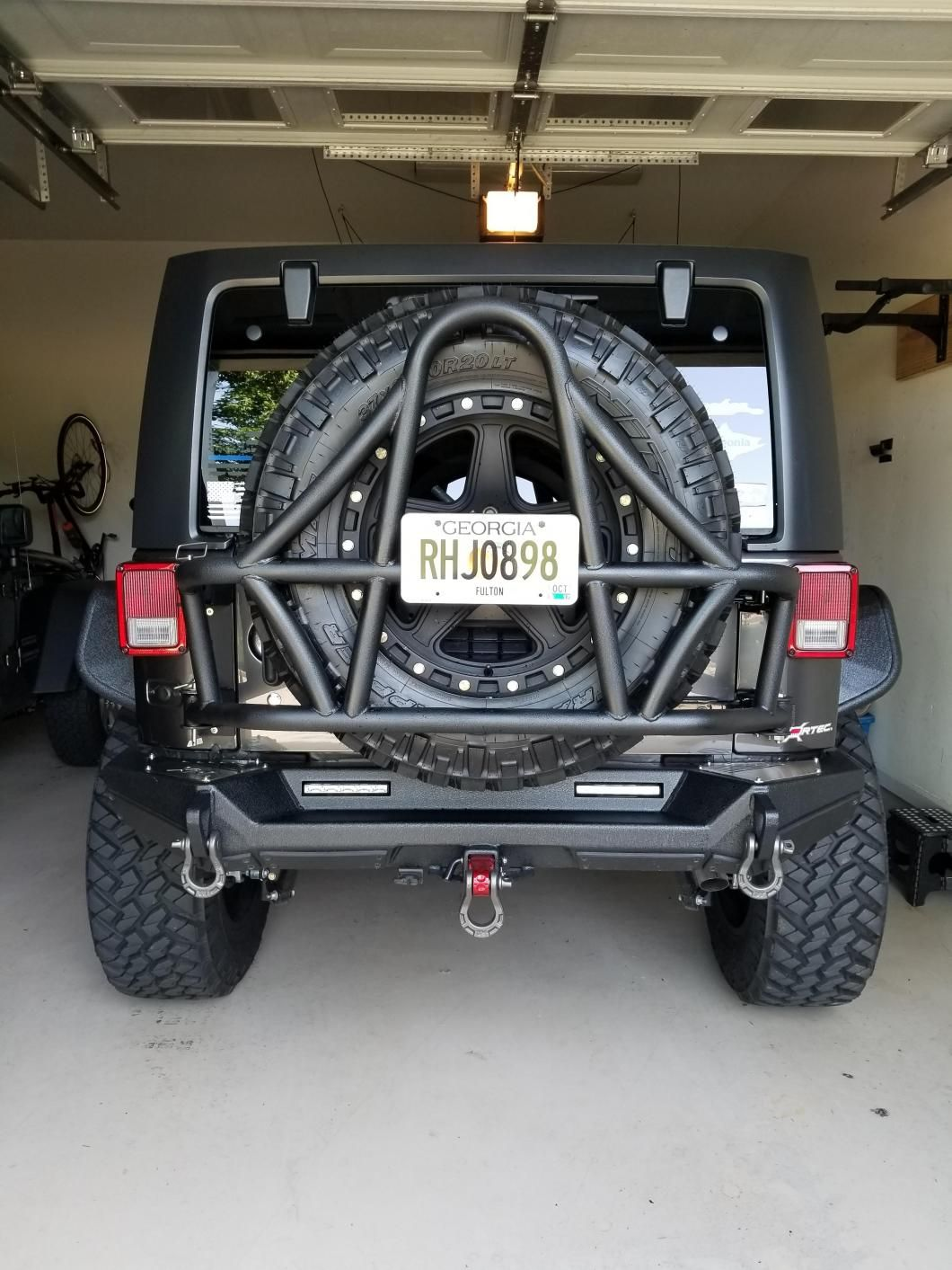 hight resolution of dv8 off road jeep wrangler tire carrier tcsttb 01 07 18 jeep wrangler jk