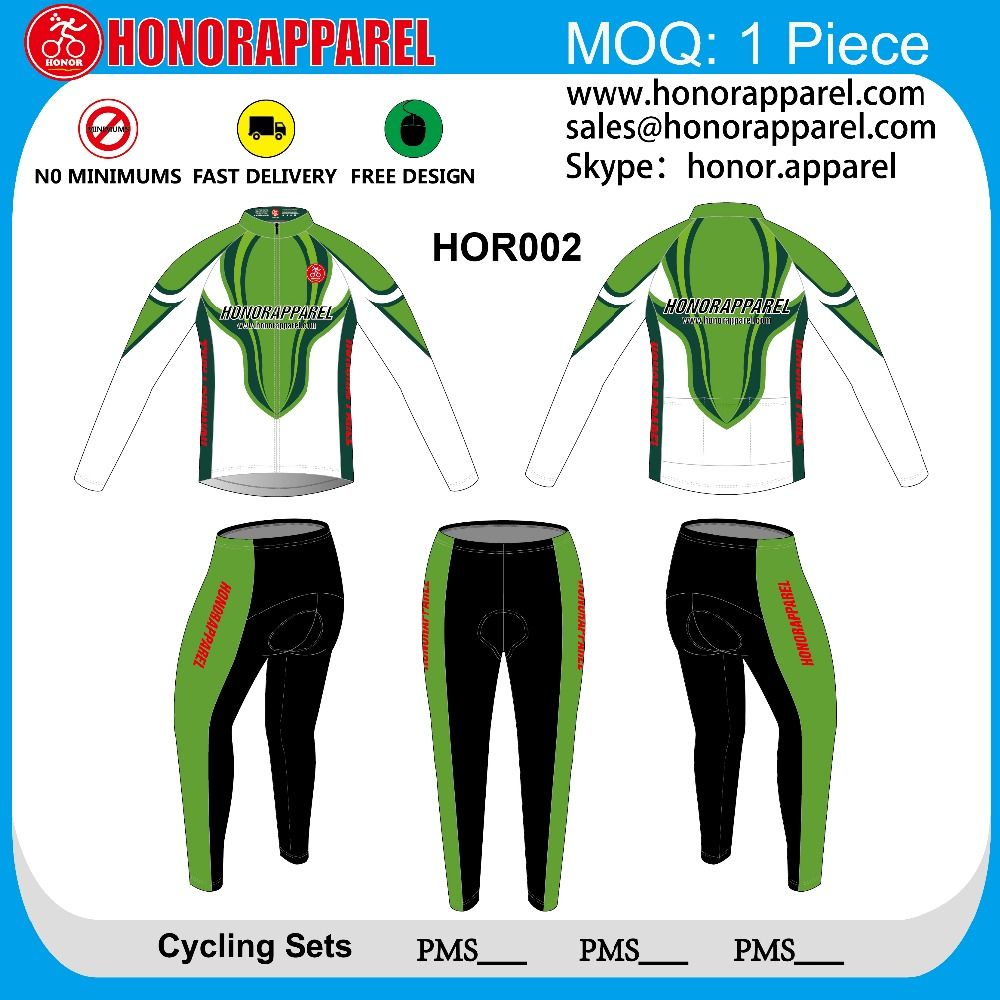 Long Sleeve Cycling Jersey Bicycle Clothing Bike Jacket Jogging