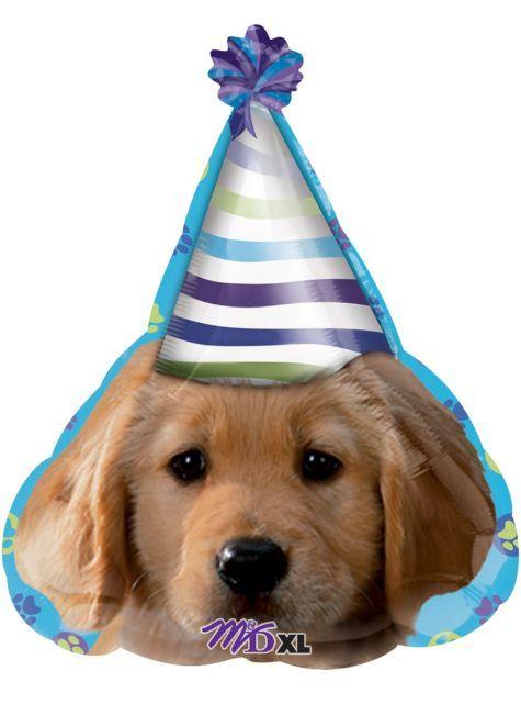Party Pups Happy Birthday Balloon