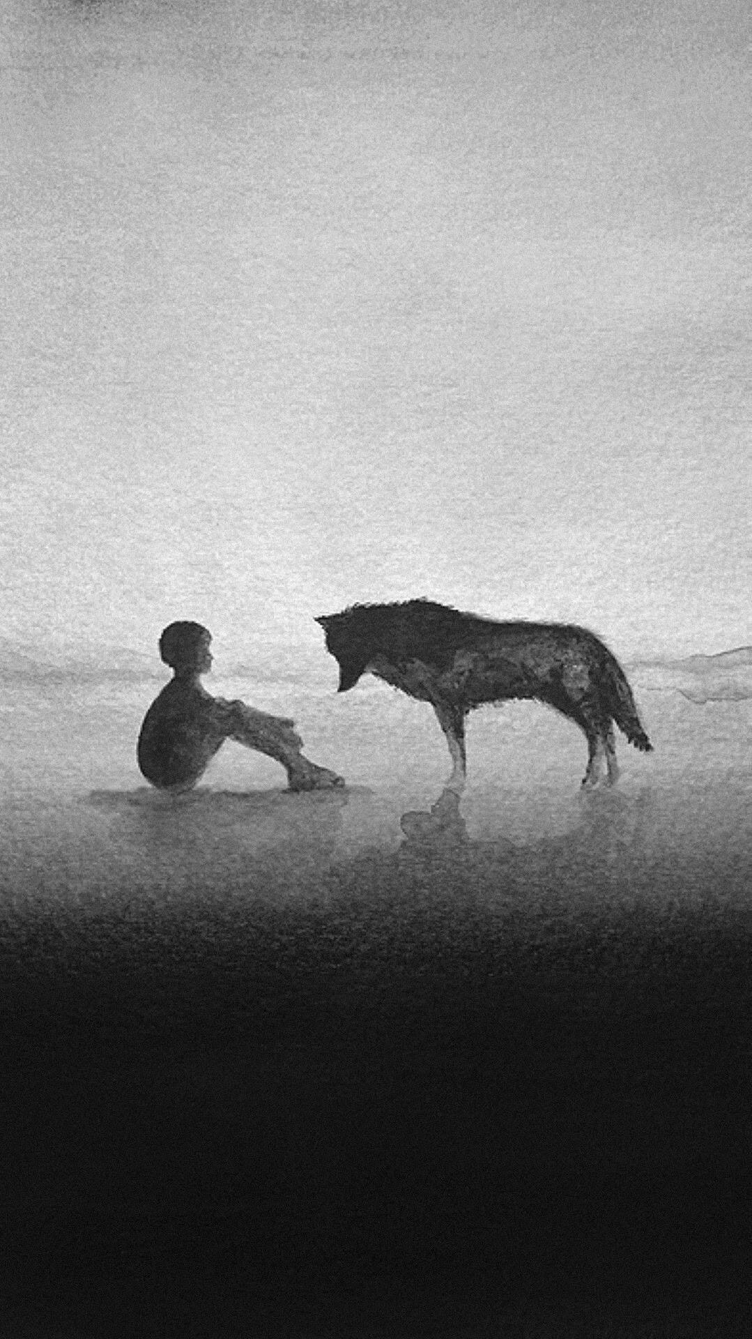 Man vs Wolf