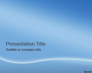 Blue Sky Powerpoint Template Free Powerpoint Templates Simple Powerpoint Templates Powerpoint Templates Business Powerpoint Templates