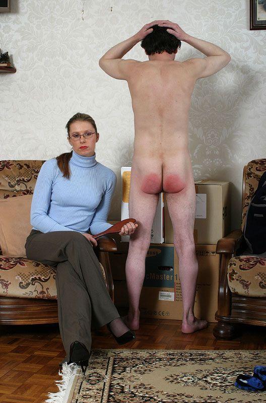 guy spank strict master