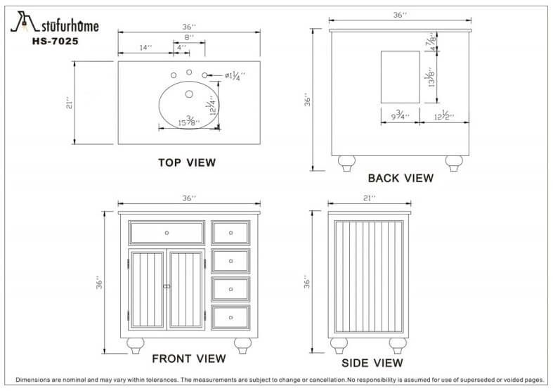 bathroom vanity height ada | Bathroom dimensions, Bathroom ...