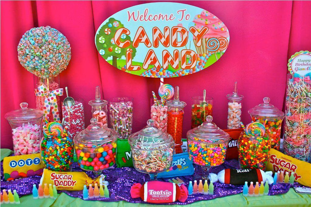 Candyland party table decorations candyland work party pinterest candyland candy land and - Candyland party table decorations ...