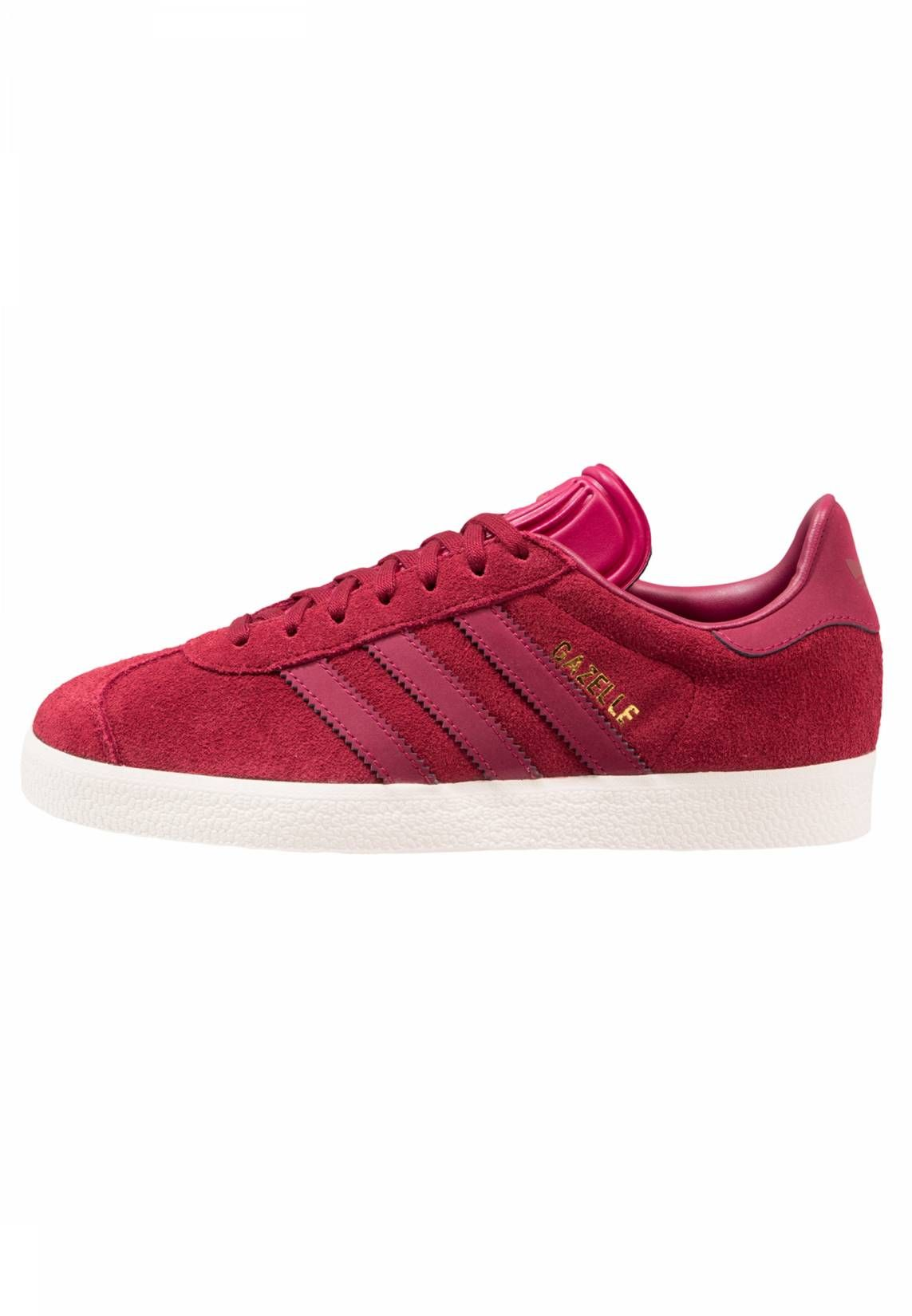 GAZELLE - Sneakers basse - collegiate burgundy/mystery ruby/gold metallic