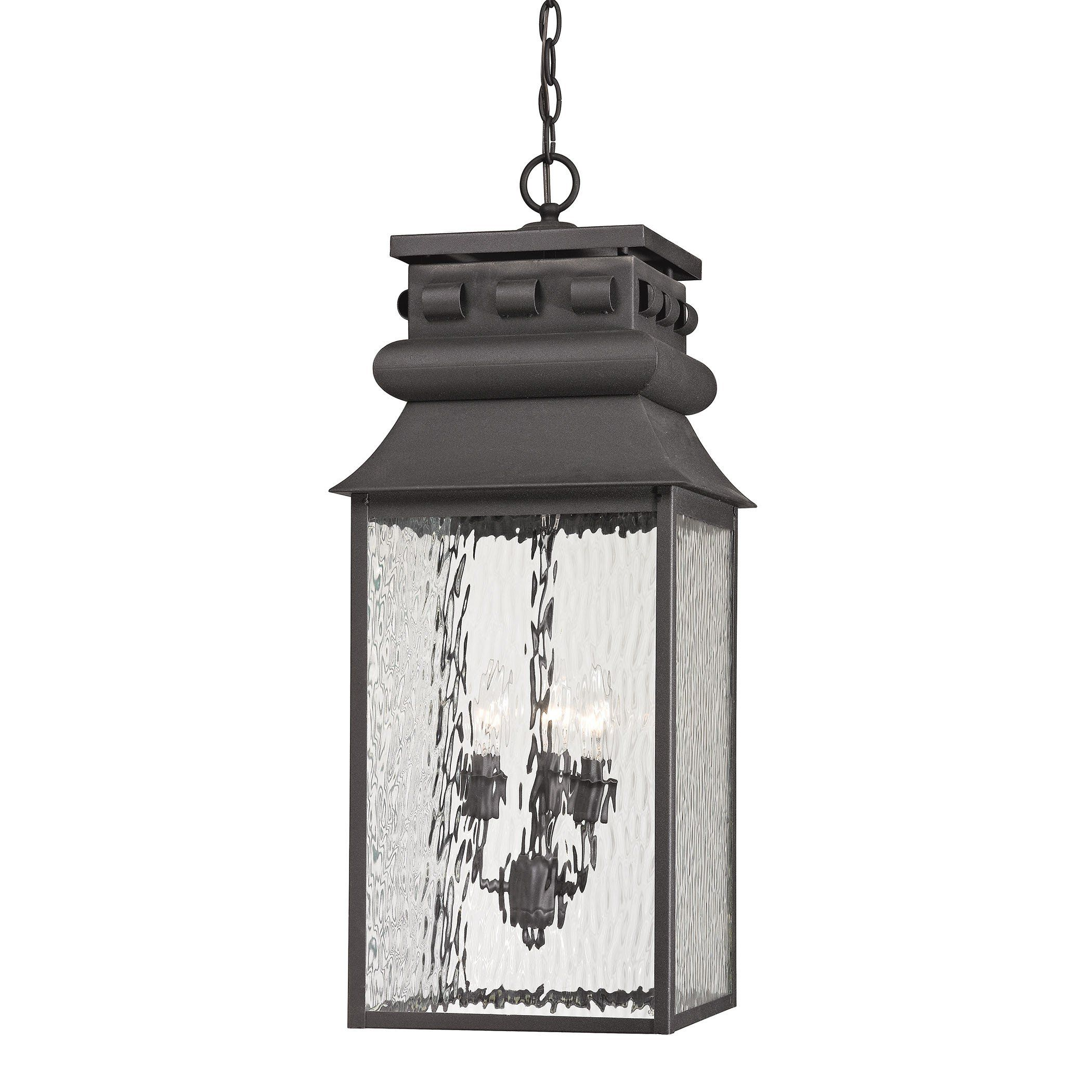 Shop Westmore Lighting Forged Lancaster 3 Light Outdoor Pendant At Lowes Canada Find Our Selection Of The Lowest Price