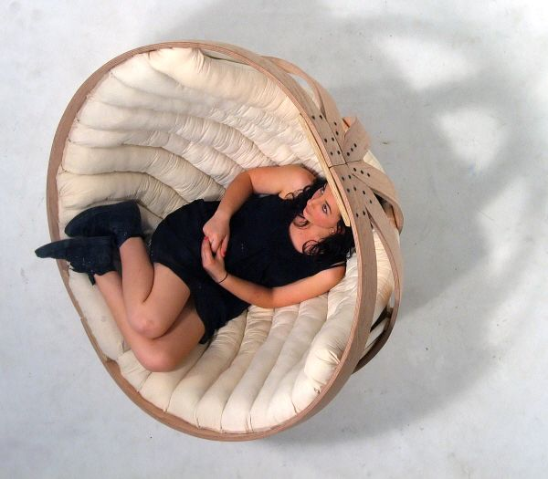 Marvelous Beautiful And Comfortable Cradle For Adults Photo